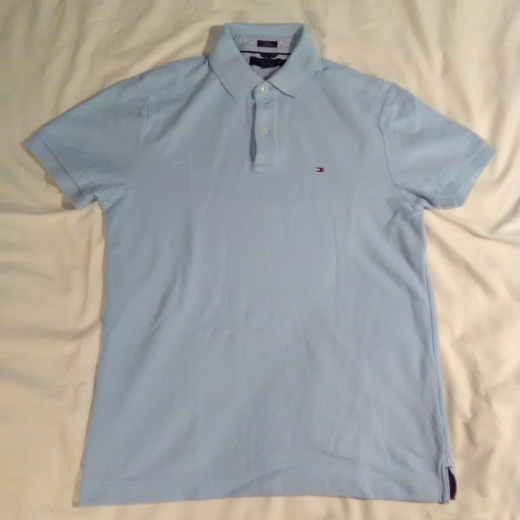 7f7e880f5 TOMMY HILFIGER SLIM FIT COUPE ETROITE POLO M. M_5b396565df030779c0f2a94b